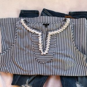 Talbots sleeveless blouse Size 12